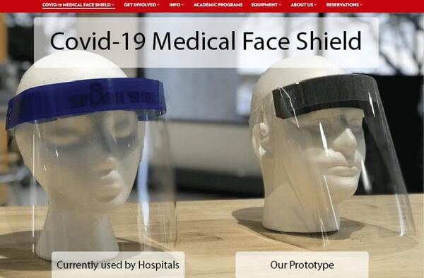 COVID-19 Medical Face Shield – UW Makerspace – UW–Madison