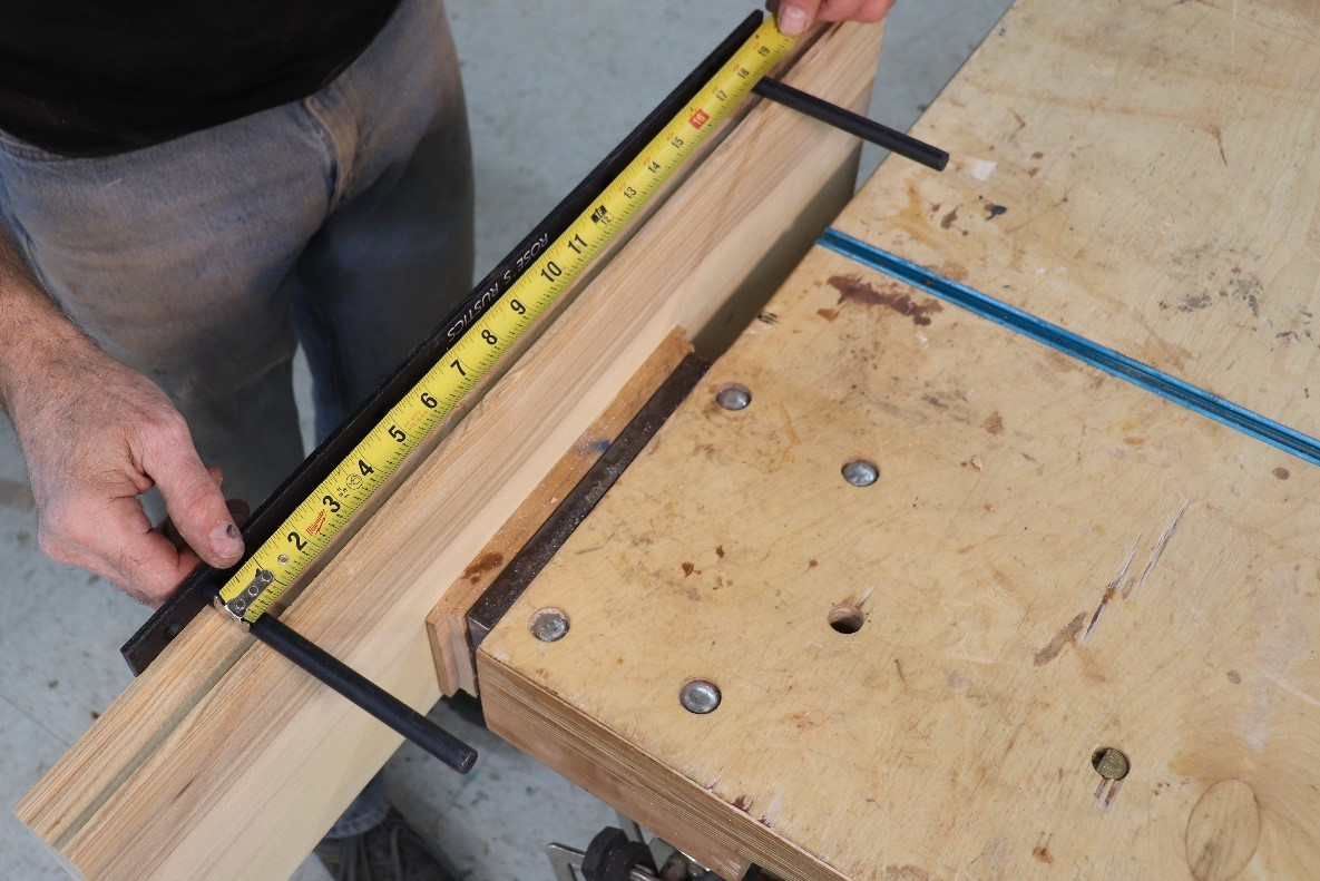 Calculating rod insert placement