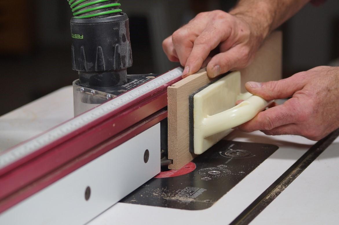 Cutting dadoed pieces