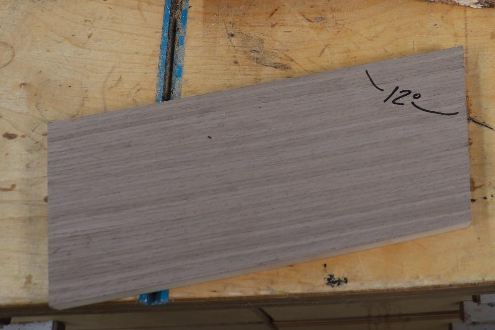 Cutting scrap of wood