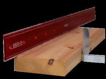 Flat piece of wood
