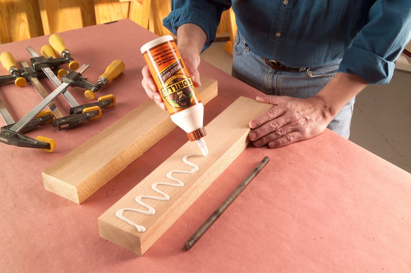 how to apply glue evenly and quickly