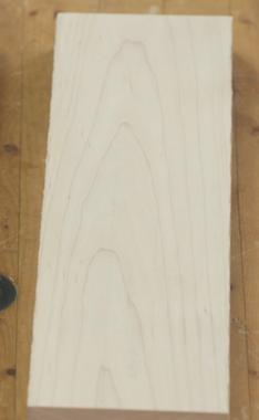 Hard Maple Wood Surfaced On Laguna Planer