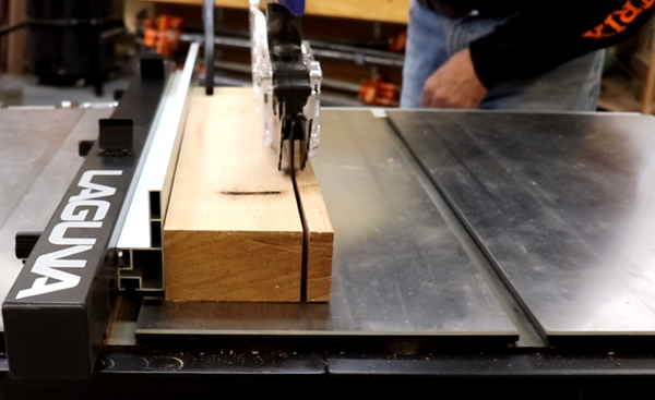 Identifying the horsepower of a Laguna Tools Fusion table saw