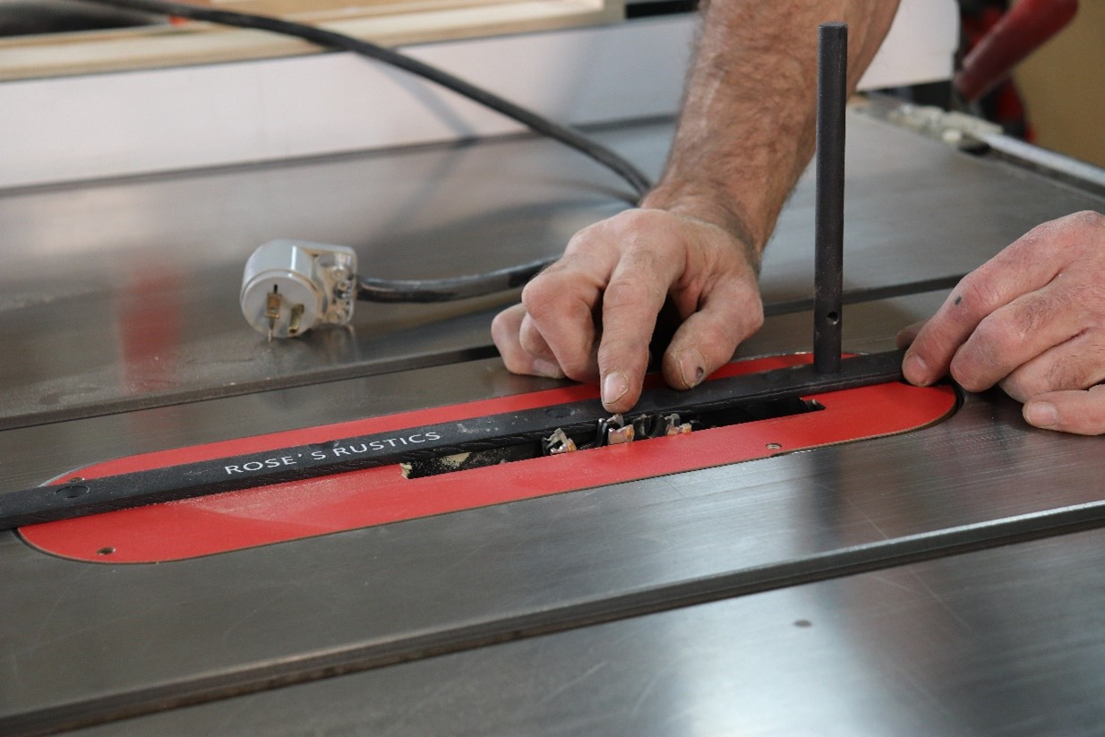 Installing a dado head in your tablesaw