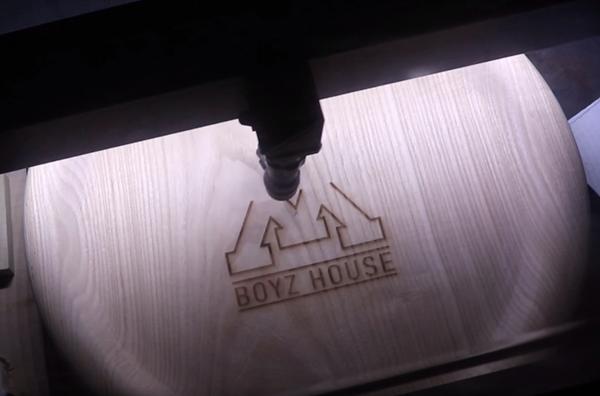 Laser engraving with a Laguna PL 1220 co2 laser