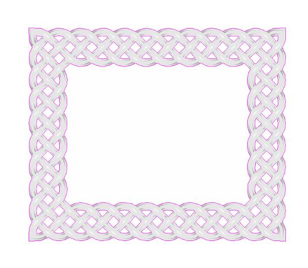 Make a Woven Frame11