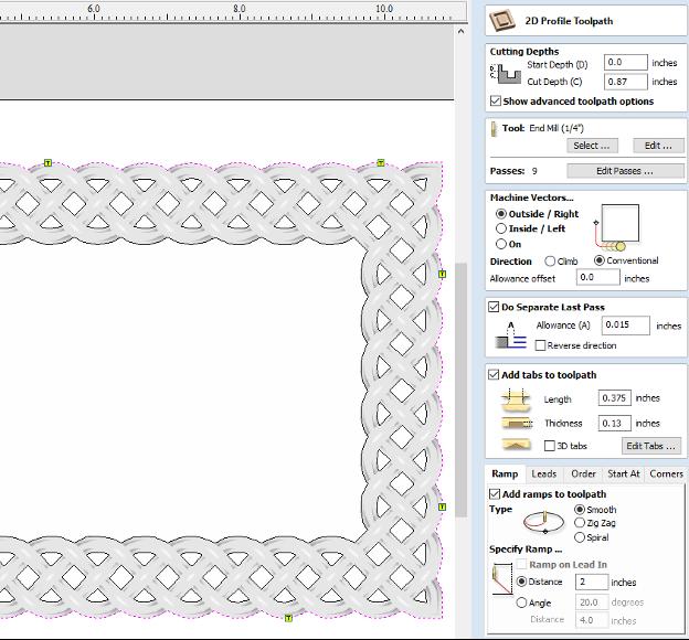 Make a Woven Frame14