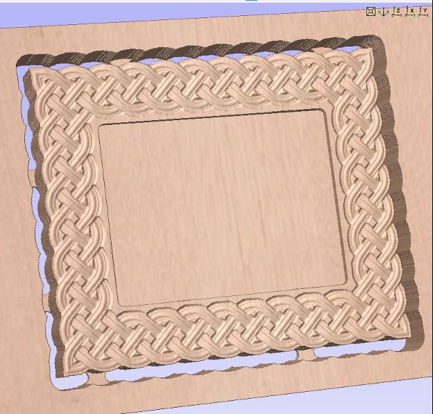Make a Woven Frame20
