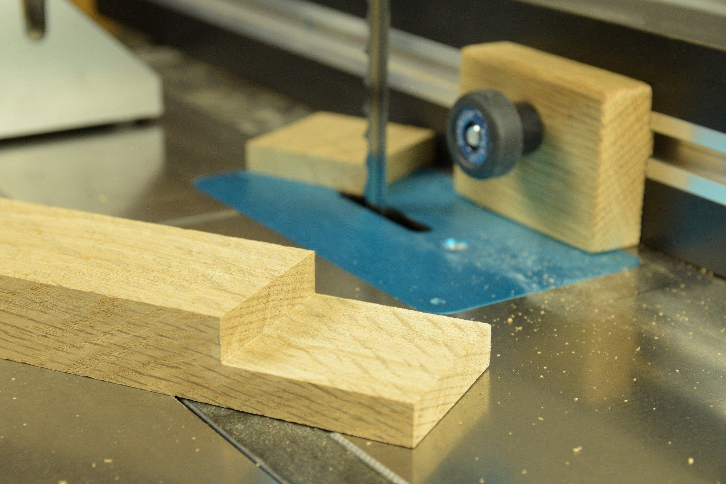 Precise cut with no sanding required