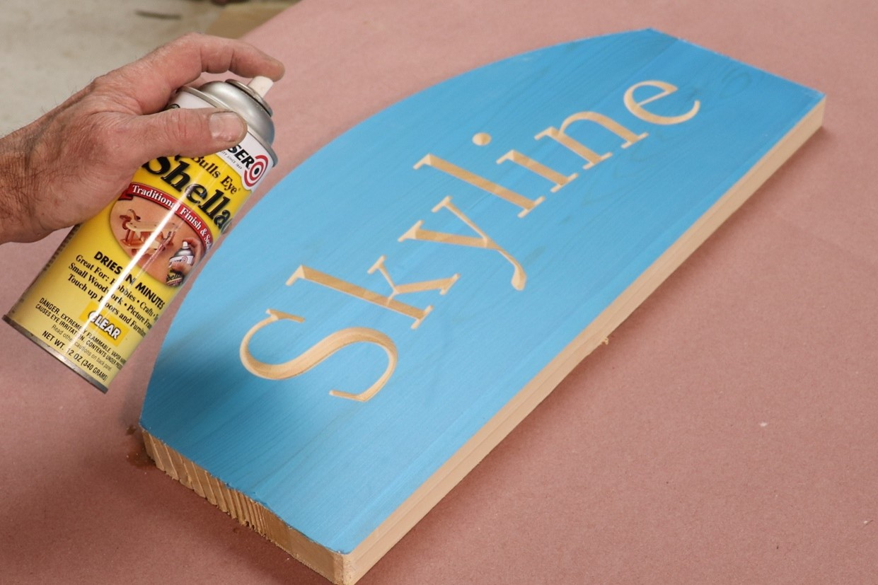 Priming sign for paint