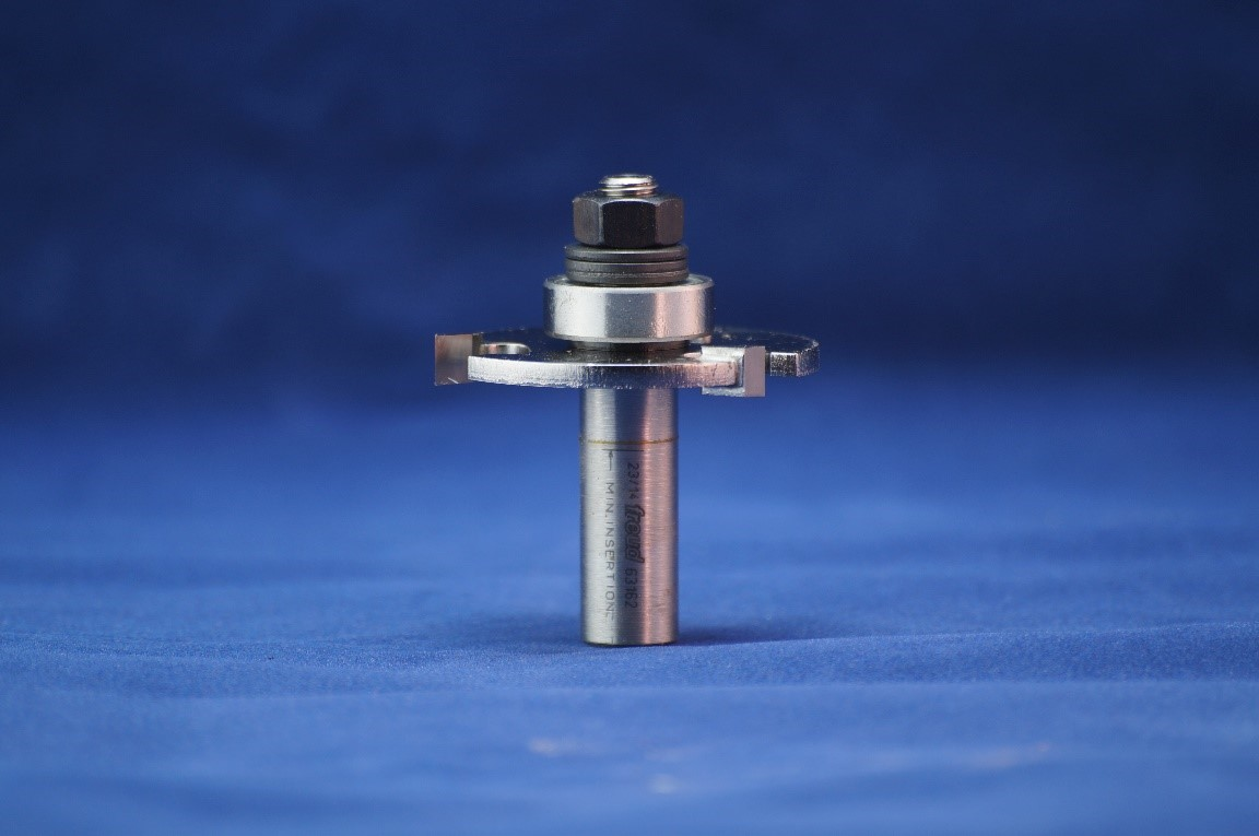 Slot Cutting router bit for router table