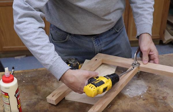 Utilizing pocket-hole joinery