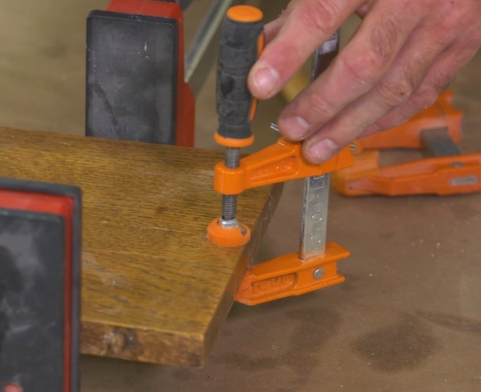 add clamps to further alignment