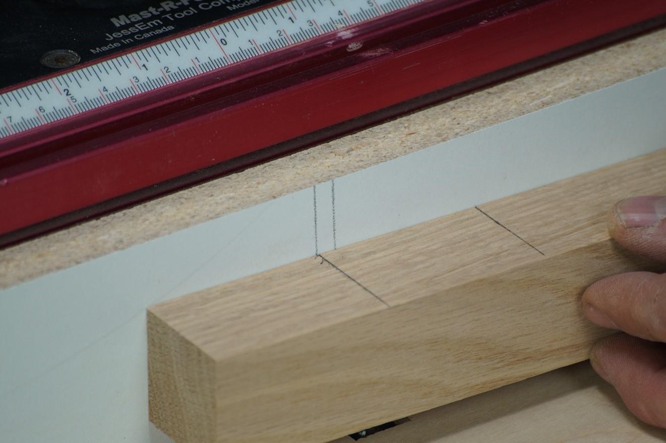 aligning line measurements
