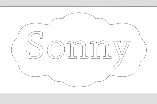 changing up the outline or design
