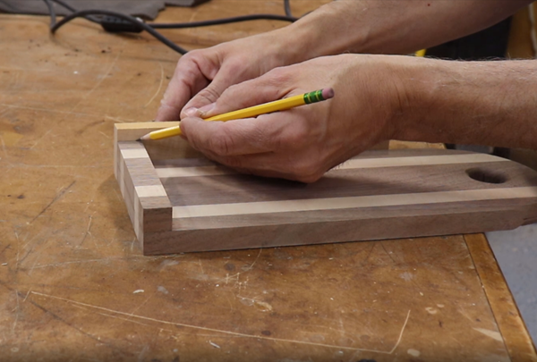 creating the side rails for the guide