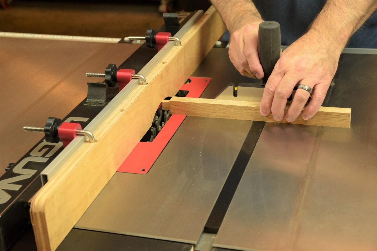 cutting a tenon with the dado blade