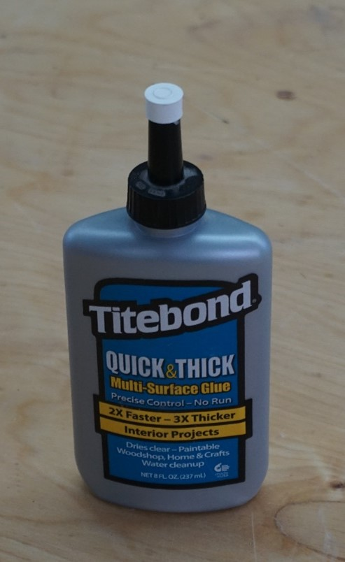extra thick glues to keep from running
