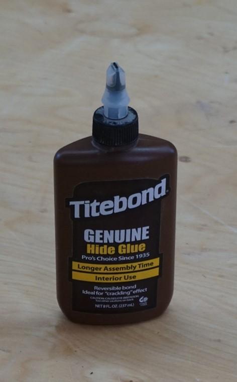 hide glue for complex glue ups