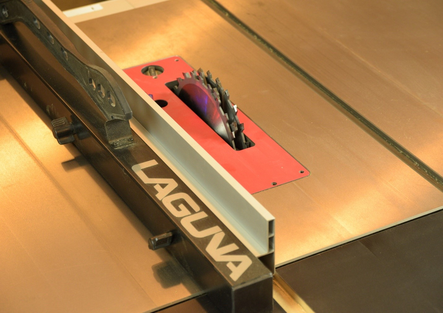 making sure your Fusion tablesaw is powerful enough to run the blade