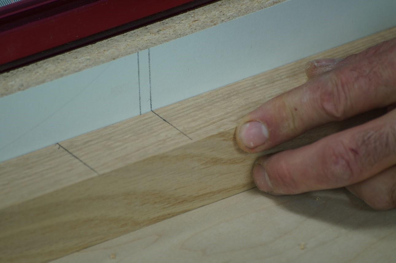 second alignment cut