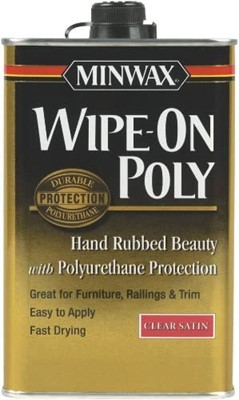 suggested wipe on poly