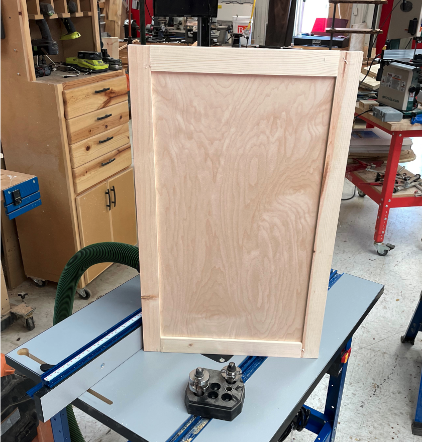 Make a Tongue and Groove Door Frame