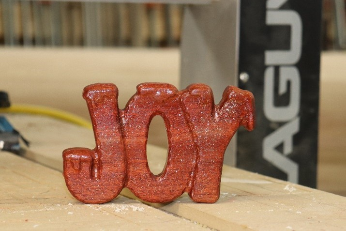 CNC Project - Spread Some Holiday Joy