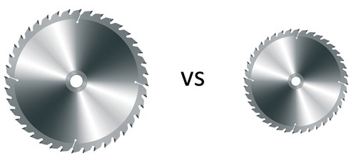 The MANY Advantages of a Smaller Diameter Blade on Your Table Saw