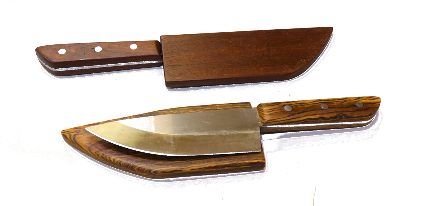 Make a Knife and Wooden Sheath Using a Blade Kit (Part 1 – the knife)