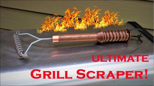 Turn a Unique Grill Scraper Main Image