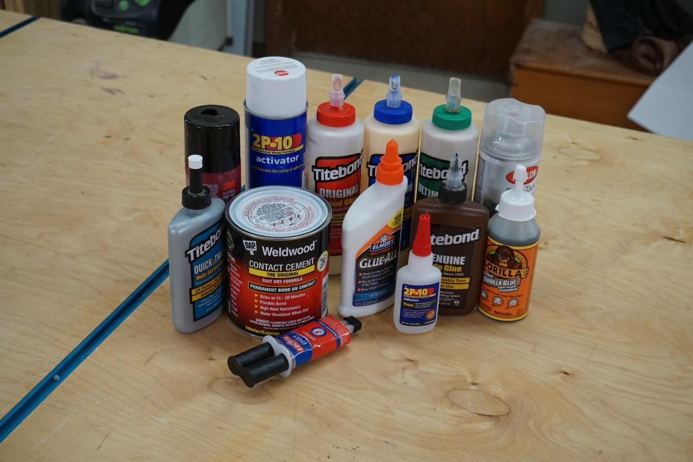Understanding the Differences Between Each Glue
