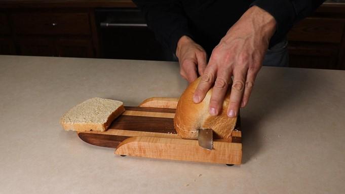 make a unique bread slicing guide main image