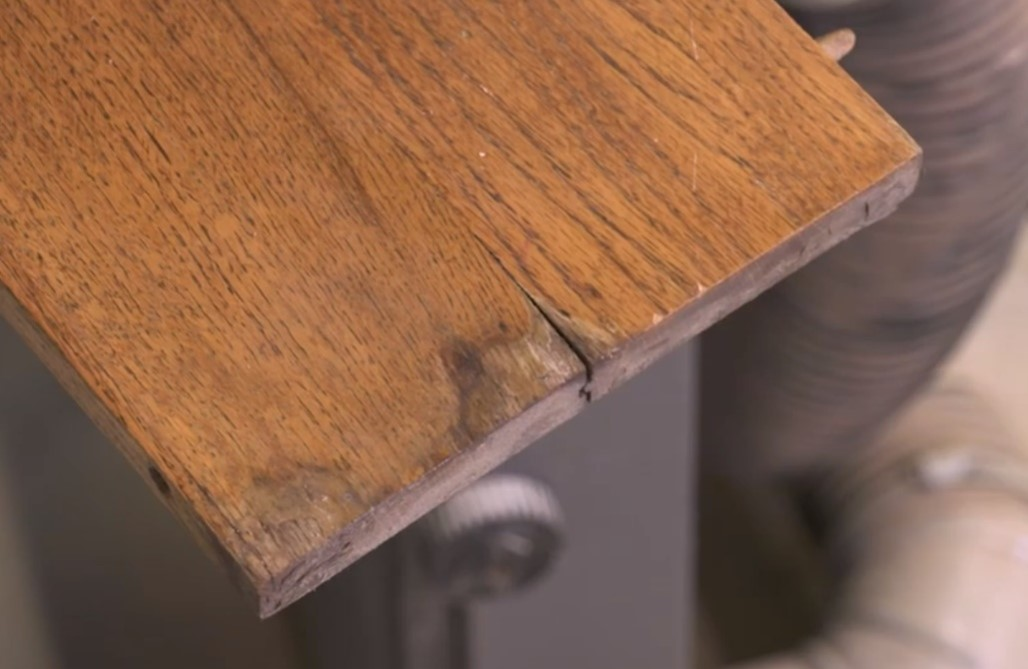 How To Repair A Cracked Table Leaf